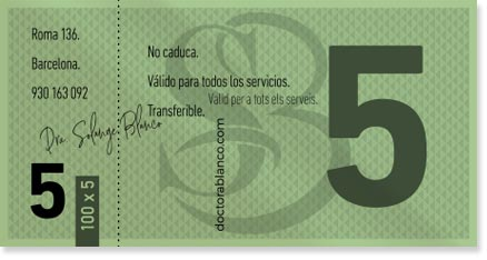 Doctora Blanco - Medicina Estética - Barcelona - Tickets 100 x 5