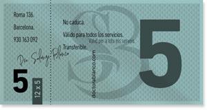 Doctora Blanco - Medicina Estética - Barcelona - Tickets 12 x 5